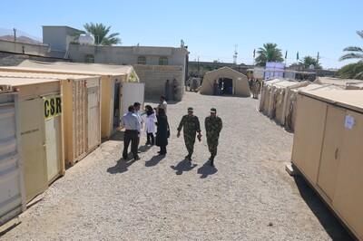 698_x3x آغاز به کار طرح مردم یاری ارتش در منطقه محروم نوجین فراشبند