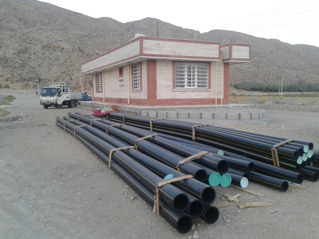 شروع عملیات شبکه داخلی گازرسانی شهرک صنعتی فراشبند