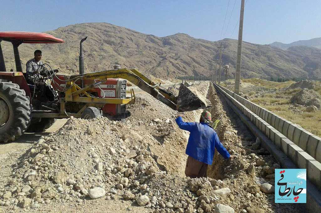 تکمیل زیر ساخت های شهرک صنعتی فراشبند در گام آخر