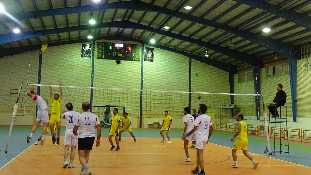 DSC05220 تیم تعاونی قهرمان جام والیبال کارمندان فراشبند شد