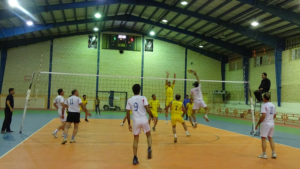 DSC05224 تیم تعاونی قهرمان جام والیبال کارمندان فراشبند شد