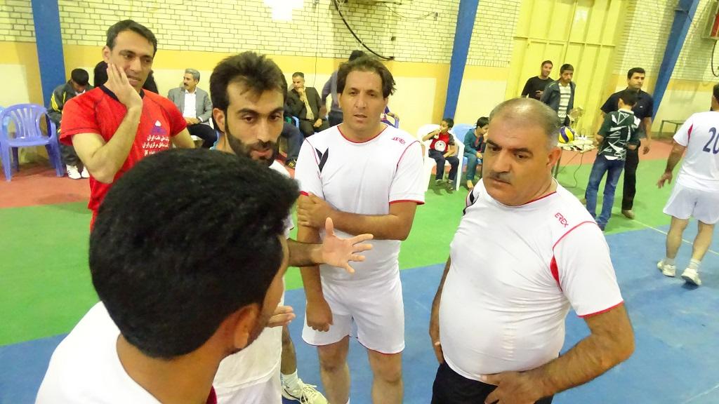 DSC05226 تیم تعاونی قهرمان جام والیبال کارمندان فراشبند شد