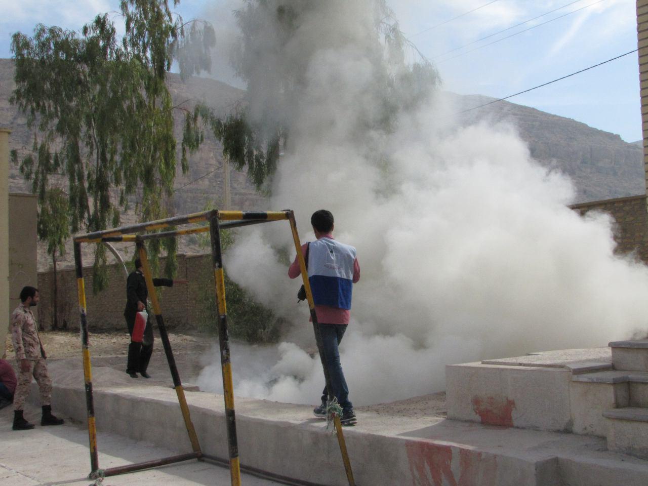 photo_2017-11-07_14-22-28 برگزاری رزمایش پدافند غیرعامل در شهرستان فراشبند