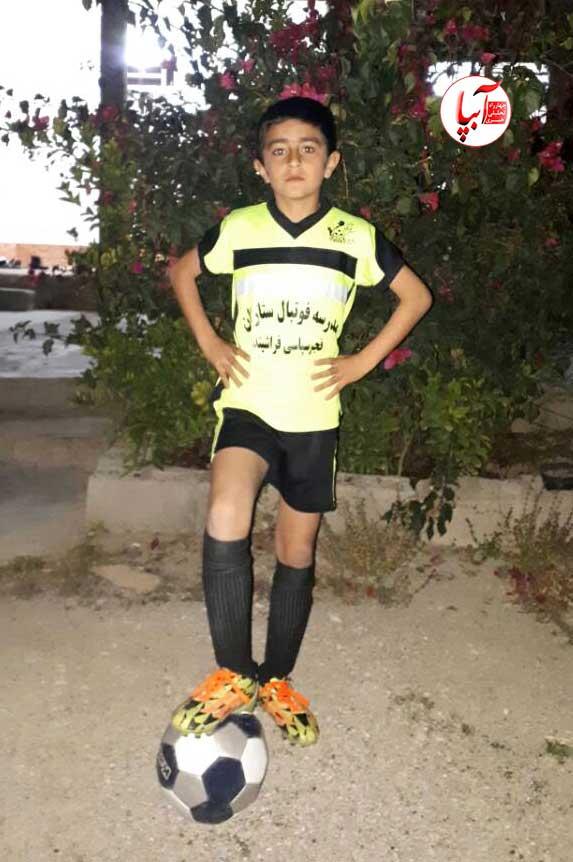 راهیابی نونهال فراشبندی به تیم فوتبال زیر 11 سال استان فارس