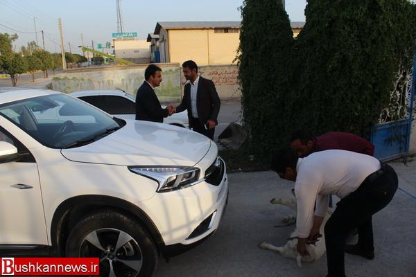 خودروی جدید به ناوگان موتوری شهرداری بوشکان اضافه شد +تصاویر