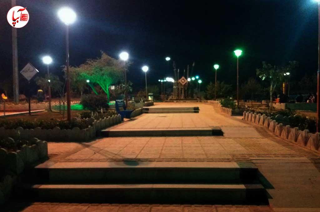 پارک زیبای شهر نوجین