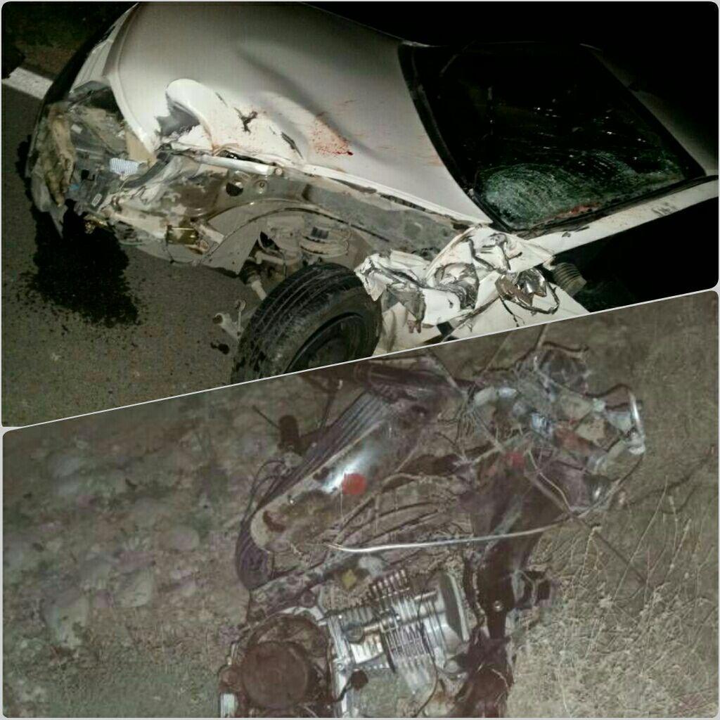 یک کشته در تصادف فراشبند