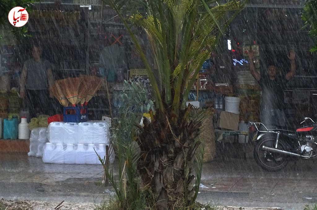 بیشترین میزان بارش فارس در فراشبند ثبت شد