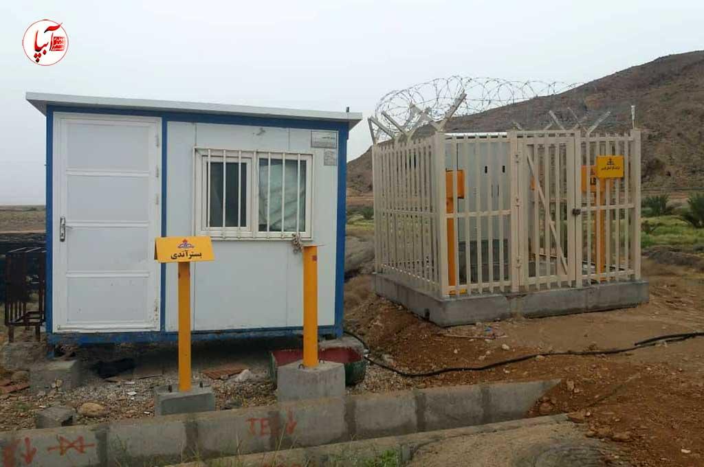 اجرای ایستگاه حفاظت کاتدی خط تغذیه گاز شهرک صنعتی فراشبند