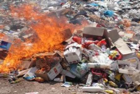 امحا مواد غذایی فاسد در فیروزآباد
