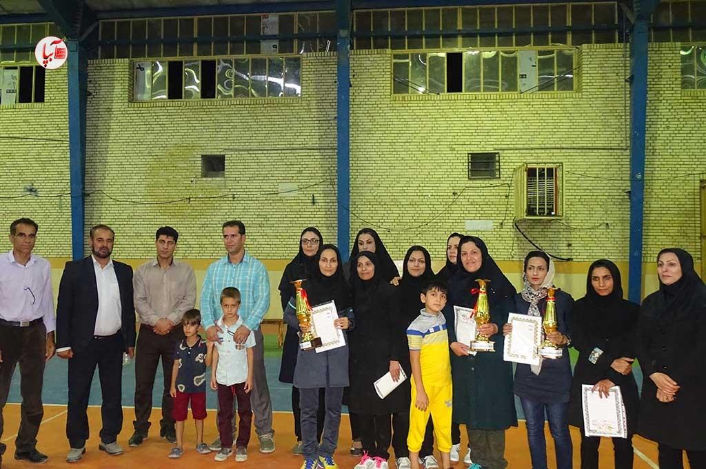 مسابقات والیبال بانوان «جام رمضان» در فراشبند با قهرمانی تیم مرصاد به پایان رسید.