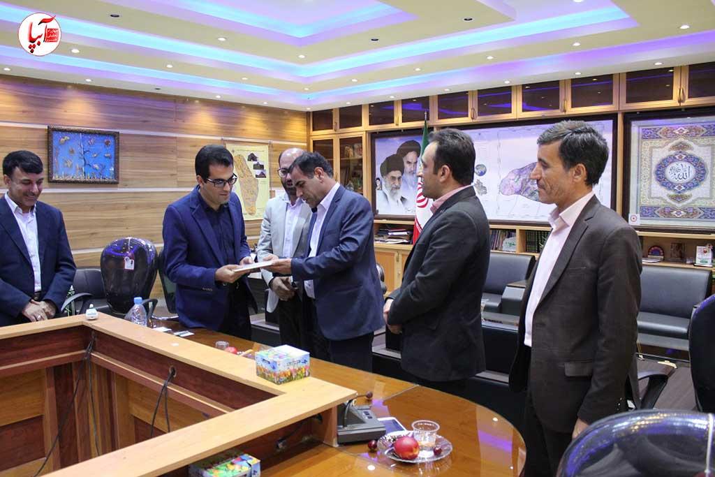 حامد جلالی سرپرست اداره کتابخانه های عمومی شهرستان فراشبند شد