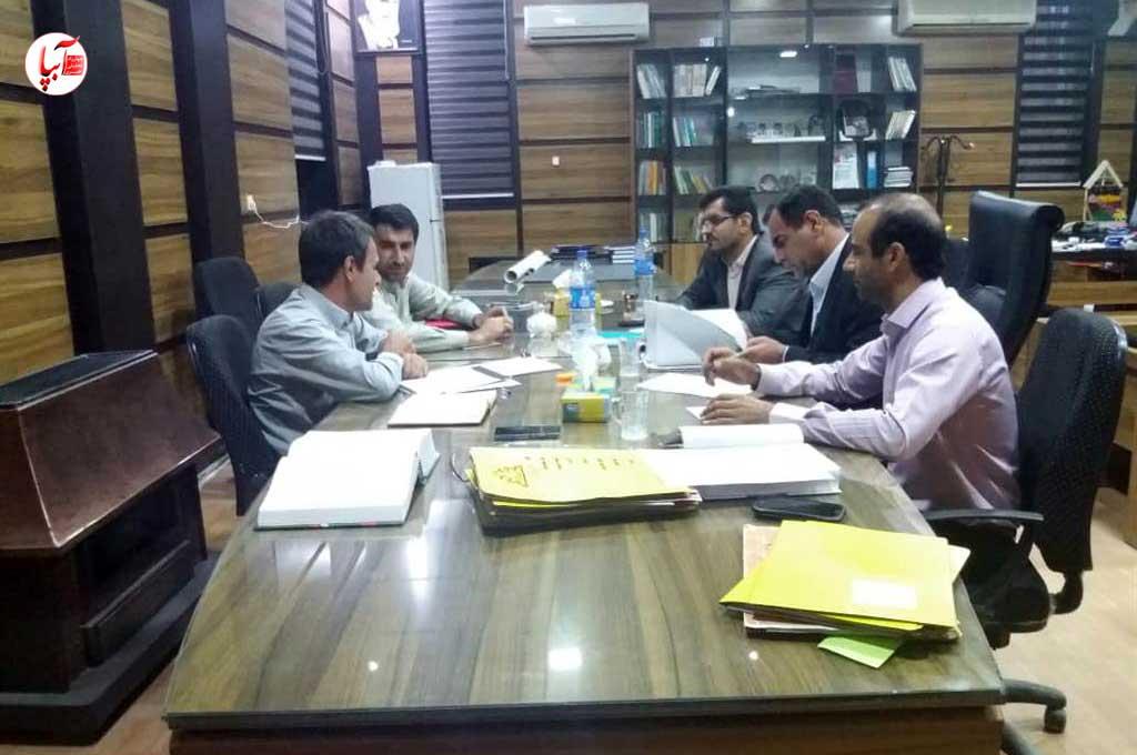 برگزای اولین جلسه کمیسیون ماده صد شهرداری فراشبند در دوره جدید