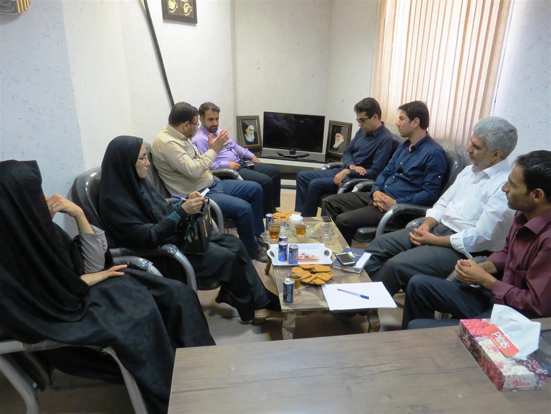 برگزاری جلسه ستاد اجرایی جام باشگاههای کتابخوانی درشهرستان فراشبند