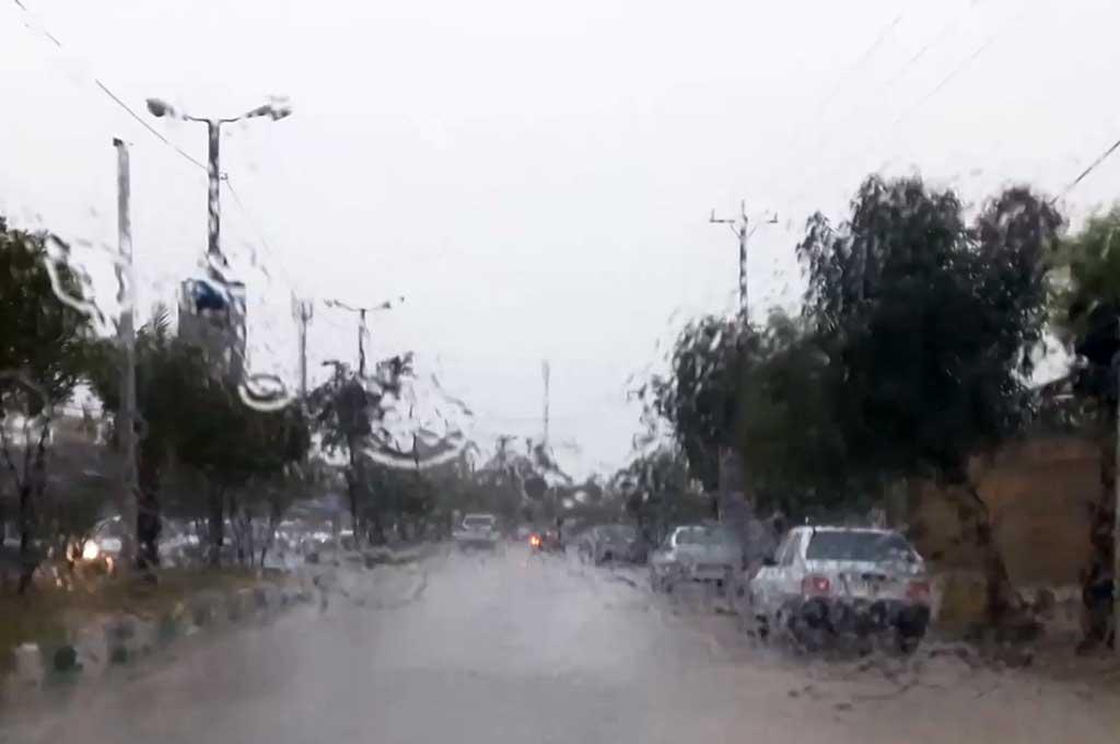 فراشبند پربارشترین نقطه فارس؛ 20.6 میلیمتر باران در فراشبند ثبت شد