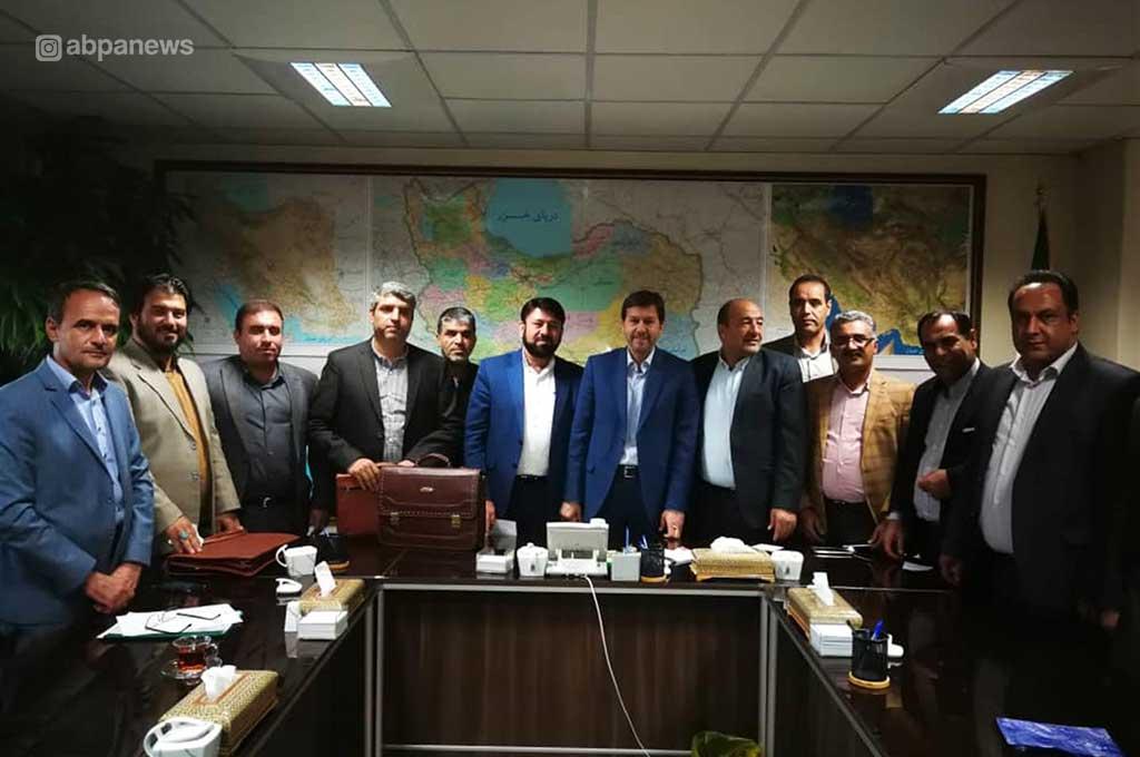 نشست فرماندار و شهردار فراشبند با رئیس سازمان شهرداری ها و دهیاری های کشور