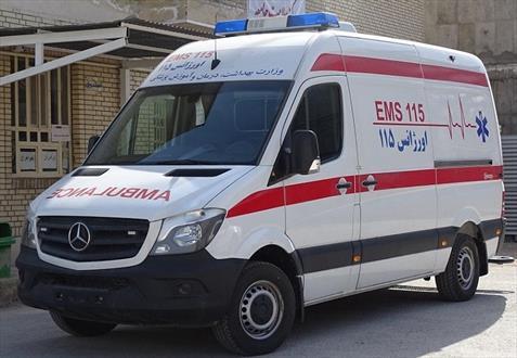 افزوده شدن یک دستگاه آمبولانس بنز پیشرفته ۳۱۵به ناوگان اورژانس ۱۱۵ فراشبند