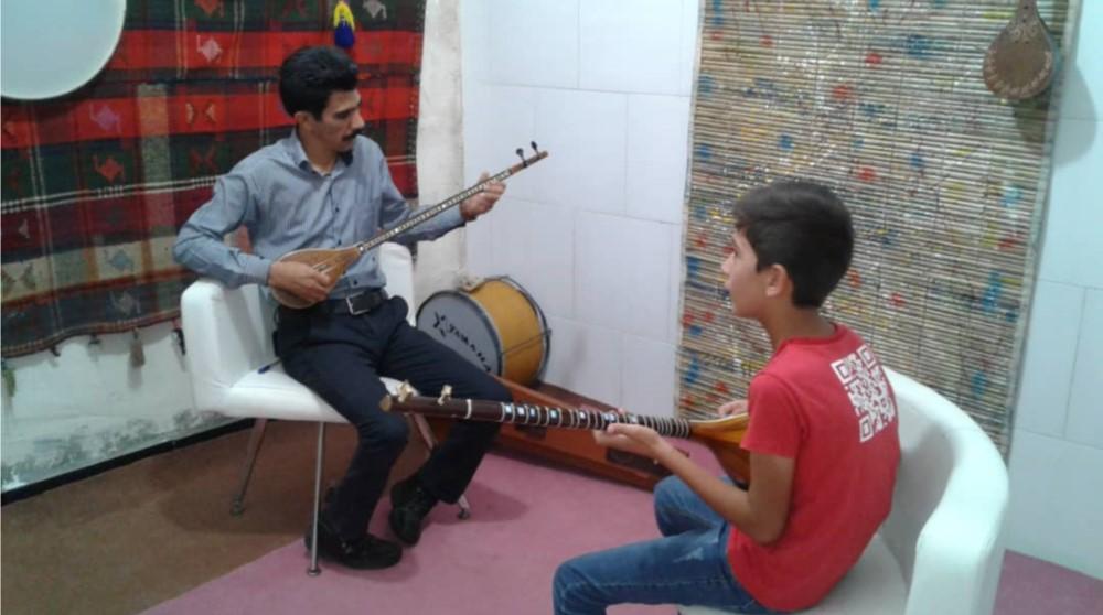 برگزاری کلاس آموزش موسیقی در فراشبند