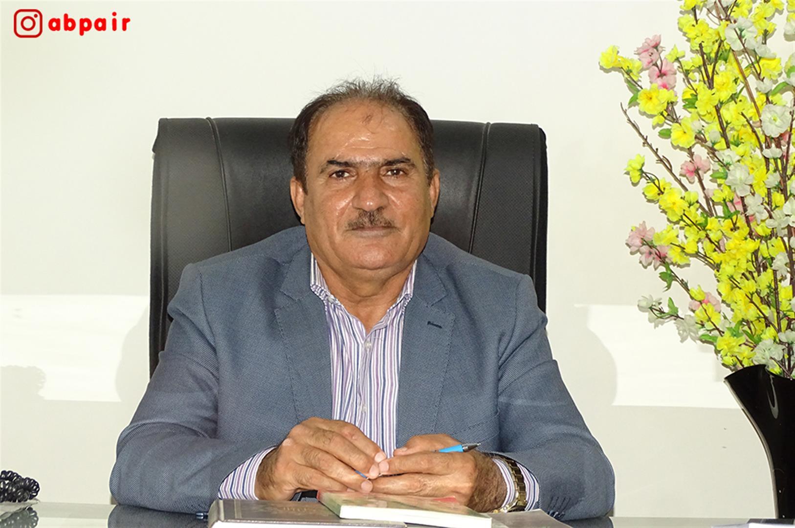 گفتگوی آبپا با نوشادی رئیس شورای شهر فراشبند